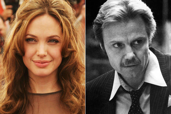 "Angelina Jolie is the daughter of Jon Voight, shown above in the 1982 film ""Get Out."""