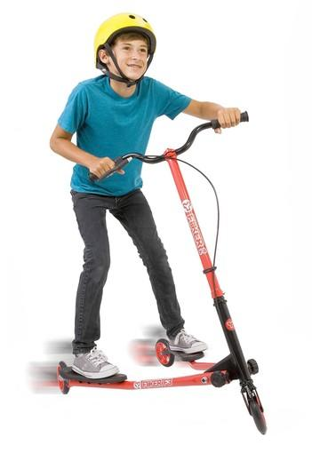 The ATM Sports Fliker Free Style Rider for kids could be a fun alternative to the Razor scooter or Trikke.
