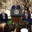 President Bush speaks