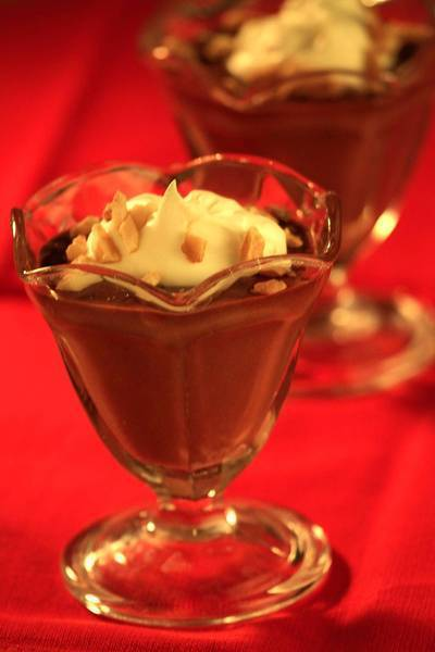 "Lawry's Nutella chocolate espresso Kahlua mousse. <a href=""http://www.latimes.com/features/food/la-fo-sos-chocolate-mousse-20130330,0,3858678.story"">Recipe</a>."