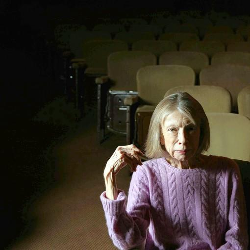 "Joan Didion, pictured in 2007, says that with ""Blue Nights"" she tried to do ""something really personal."""