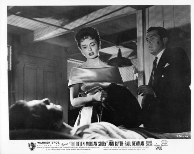 "Ann Blyth and Richard Carlson ""The Helen Morgan Story."" Blyth went dramatic in this 1957 bio-pic on the famed torch singer"