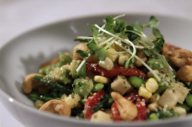 "A vegetable salad <a href=""http://www.latimes.com/features/food/la-fo-sos-veggiesalad-20111013,0,1206196.story"">recipe</a> adapted from a dish at BLD in Los Angeles."