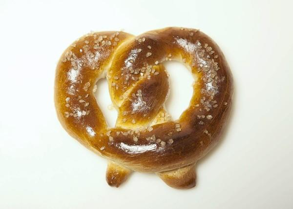 "A warm pretzel right out of the oven is a grand thing. Pictured is a soft pretzel. <a href=""http://www.latimes.com/features/food/la-fo-pretzelrec1-20111020,0,3627489.story"">Recipe</a>"