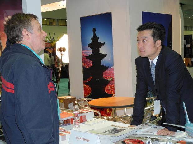 South Korea is just one of the many countries represented at the L.A. Times Travel show.