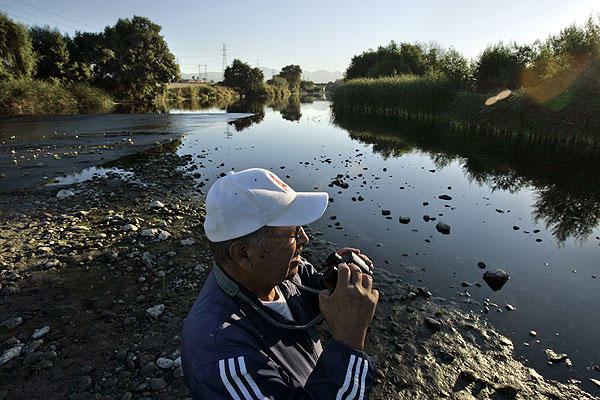 "Bird-watchers often cluster around the portion of the San Gabriel River that flows through <a href=""http://www.lacountyparks.org/Parkinfo.asp?URL=cms1_033384.asp&Title=Whittier+Narrows+Natural+Area+and+Center"">Whittier Narrows Nature Area</a>, hoping to catch a glimpse of the waterfowl and migratory birds that populate some 400 acres of  wetlands.<br> <br> 1000 N. Durfee Ave.<br>