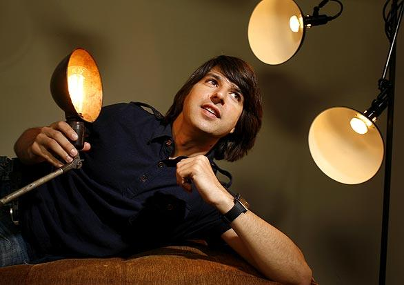 "Demetri Martin, 36, has the lead role in Ang Lee's ""Taking Woodstock,"" a big part opposite Brad Pitt in next year's ""Moneyball"" and his own Comedy Central television series — ""Important Things With Demetri Martin."" Not bad for a Yale-educated historian and law school dropout who says comedy remains his ""first love and primary interest.""<br> <br> <a href=""http://www.latimes.com/entertainment/news/la-ca-hot-martin21-2009jun21,0,3828808.story""><b>Read more.</b></a>"