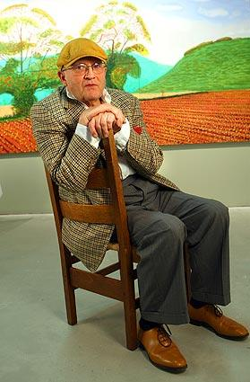 David Hockney, who has been living in England, is back in L.A. for a stretch. He has two shows up in New York at the moment.