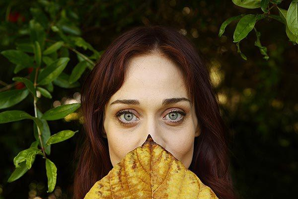 "Fiona Apple is back on the road with her first album in seven years, ""The Idler Wheel...,"" a stripped-down confessional that she can't wait to unleash onstage.<br>