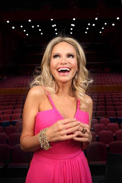 "Singer and actress Kristin Chenoweth performed at Lehigh University Zoellner Arts Center after a suffering a serious head injury in July 2012 on the set of ""The Good Wife."""