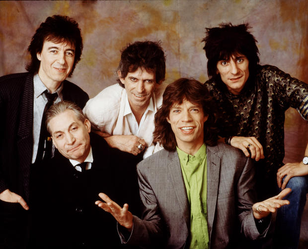 The Rolling Stones in London, 1986.