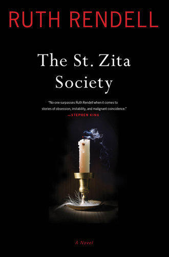 Cover of 'The St. Zita Society' by author Ruth Rendell.