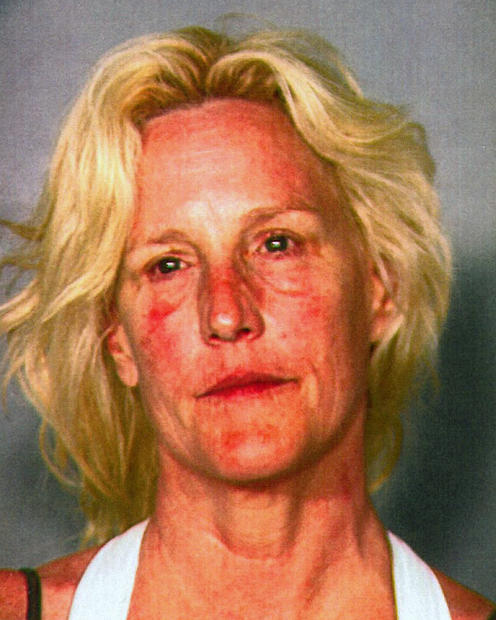 This Clark County Detention Center booking photo shows environmental activist Erin Brockovich, 52, who was arrested late Friday June 7, 2013, on suspicion of boating while intoxicated at Lake Mead near Las Vegas. Brockovich was released from the Clark County Detention Center after posting $1,000 bail.