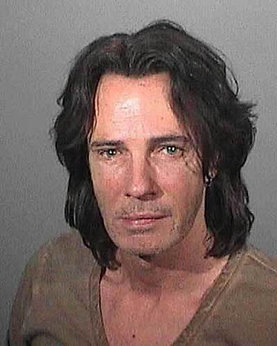 Singer Rick Springfield is shown in this police booking mug shot released by the Los Angeles County Sheriffs Department. Springfield was taken into custody May 1, 2011, on suspicion of driving under the influence of alcohol.