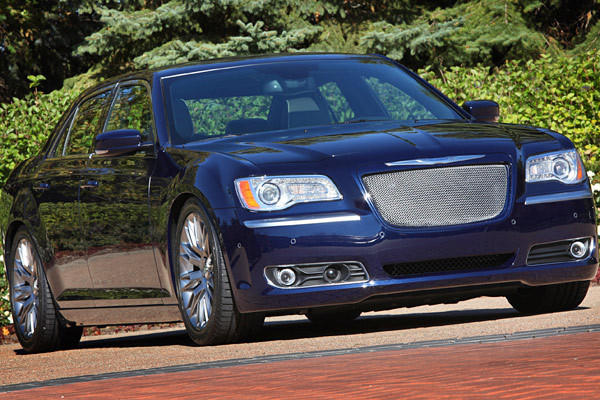 Chrysler 300 Luxury: This models keeps things relatively subdued. Underneath the unique True Blue paint sits an aftermarket Mopar rear axle and performance springs controlling 20-inch rims. Inside, premium leather is wrapped around the seats and shifter.