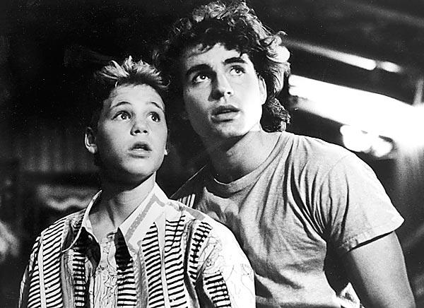 "Corey Haim, left, and Jason Patric, appeared in the teenage vampire movie ""The Lost Boys."" Haim, who fought a long battle with drug addiction, died Wednesday."