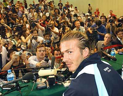 <b>The Beckham effect</b><br>