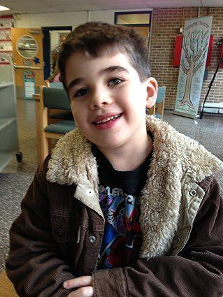Six-year-old Noah Pozner was one of the victims in the Sandy Hook Elementary School shooting on Dec. 14, 2012.