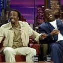 Arsenio Hall and Magic Johnson