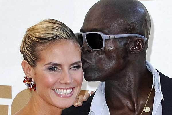 "After seven years together, Heidi Klum and Seal split up, went their separate ways the Saturday night of Klum's 13th annual Halloween extravaganza in 2011. They confirmed the separation rumors in January. <a href=""http://latimesblogs.latimes.com/gossip/2012/01/heidi-klum-seal-separated-divorce-split.html"" class=""center_label"">Story</a>"