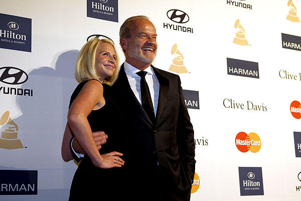 Kelsey Grammar and wife Kayte