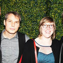 Perry Rubenstein, Shepard Fairey, Amber Young and Neil Young