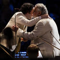 Gustavo Dudamel and Placido Domingo