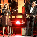 Kelly Clarkson and Vince Gill