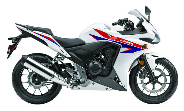Honda made some aggressive moves toward courting new, young riders with the introduction of lightweight and affordable 500cc sport bikes like this CB500RR.