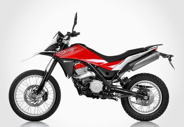 A street bike with off-road capacity, the TR650 Terra is an easy rider with good looks and a classic pedigree.