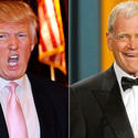 Donald Trump versus David Letterman