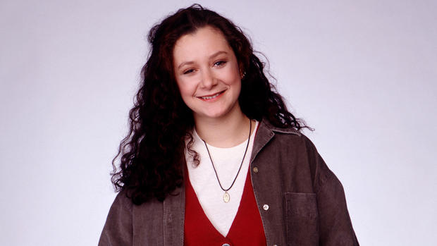"Sara Gilbert, pictured here during the filming of ""Roseanne,"" came out during a panel discussion for her CBS show ""The Talk."" Read the full story <a href=""http://latimesblogs.latimes.com/gossip/2010/07/sara-gilbert-lesbian-sexuality-the-talk.html"" target=""_blank"">here</a>."