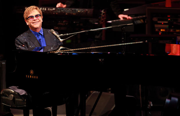 "Musician Elton John first came out as bisexual during a Rolling Stone<a href=""http://www.rollingstone.com/music/pictures/rolling-stones-biggest-scoops-exposes-and-controversies-2-aa-624/elton-john-comes-out-of-the-closet-56239380"" target=""_blank"">""Elton John: It's Lonely at the Top"" interview</a> in 1976. <br /> <br /> Even so, it wasn't until after his second divorce in 1988 that he told Rolling Stone he was comfortable being a gay man."