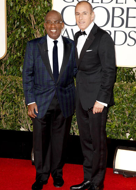 Al Roker and Matt Lauer.