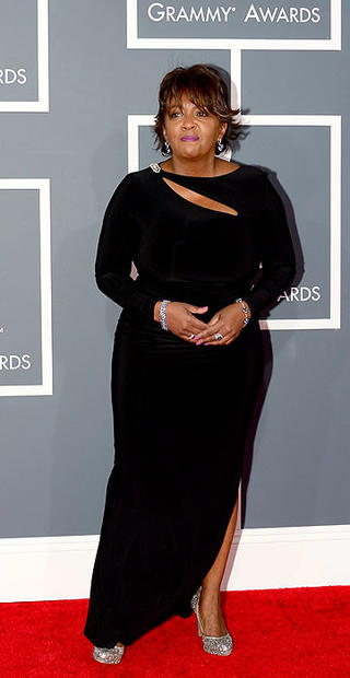 R&B singer and nominee Anita Baker