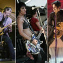 Iconic rock 'n' roll guitars