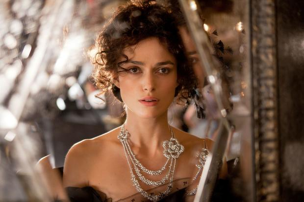 Keira Knightley's Anna Karenina sports some serious bling.