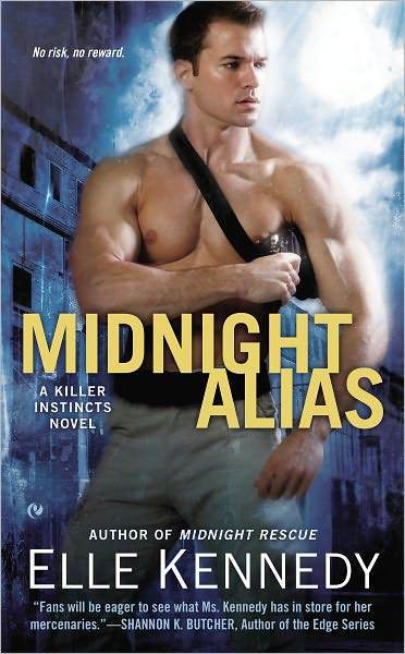 "The novel ""Midnight Alias"" by Elle Kennedy features Luke Dubois, a reckless -- and shirtless -- Louisiana charmer."