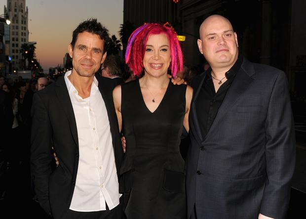 "Directors Tom Tykwer, Lana Wachowski and Andy Wachowski at the Los Angeles premiere of ""Cloud Atlas."" The three worked on the film script for six months before showing it to author David Mitchell."