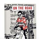 On the Road e-reader cover