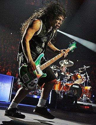 Robert Trujillo is with the band for a second time.