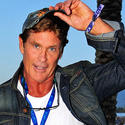 550 cardboard cutouts of David Hasselhoff stolen