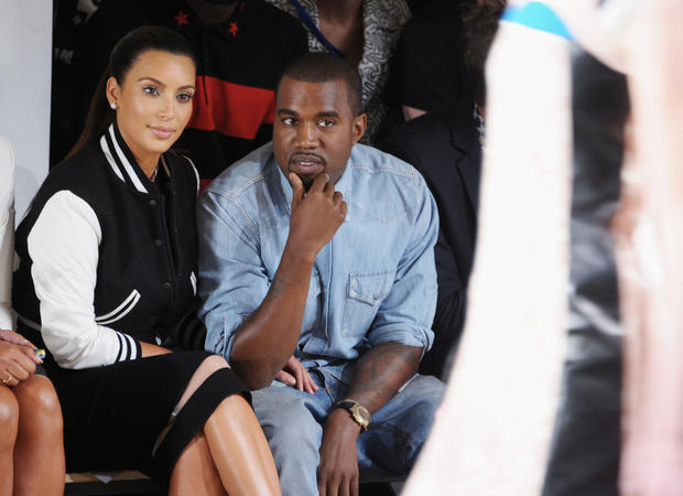 "Kim Kardashian is pregnant, and Kanye West is the father. Yes, you just read that. No, we're not kidding.  ""It's true!! Kanye and I are expecting a baby,"" Kardashian posted Monday on her blog. ""We feel so blessed and lucky and wish that in addition to both of our families, his mom and my dad could be here to celebrate this special time with us. Looking forward to great new beginnings in 2013 and to starting a family. Happy New Year!!! Xo.""  West had actually spilled the news Sunday night at a concert at the Revel Resort in Atlantic City, N.J.  <br><br> <strong>Full story:</strong> <a href=""http://www.latimes.com/entertainment/gossip/la-et-mg-kim-kardashian-pregnant-kanye-west-baby-20121231,0,7022070.story"">Kim Kardashian is pregnant, expecting a baby with Kanye West</a> 