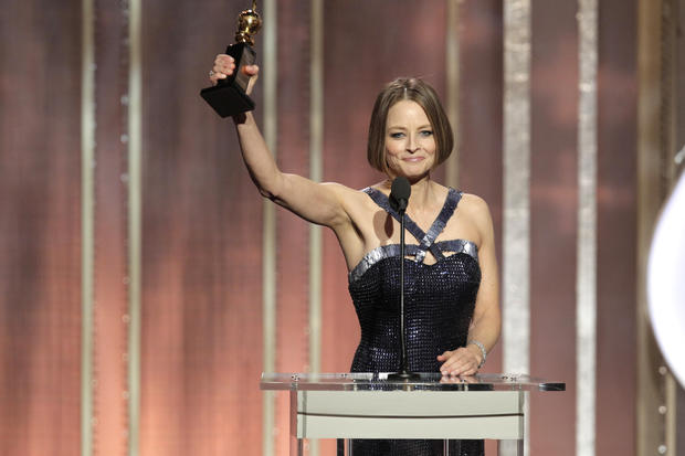 "<br>Jodie Foster's winding, emotional acceptance speech upon receiving the Golden Globes' Cecil B. DeMille Lifetime Achievement Award was one of the show's standout moments. The 6 1/2-minute oration, in which Foster addressed her sexuality, her privacy, her career and her family, seemed to draw a unanimous reaction at first: one of sheer surprise.  After the initial shock subsided, two big questions hung in the air. Had Foster come out as gay? And had she announced her retirement?  Reaction in the ballroom, and backstage, was strong, though interpretations varied.  <br><br> <strong>Full story:</strong> <a href=""http://www.latimes.com/entertainment/envelope/moviesnow/la-et-mn-golden-globes-2013-jodie-foster-speech-reaction-moves-and-mystifies-20130113,0,7021029.story"">Golden Globes 2013: Jodie Foster speech moves, mystifies</a> <br> <a href=""http://www.latimes.com/entertainment/envelope/golden-globes/"">Golden Globes 2013</a><span>: </span><a href=""http://www.latimes.com/entertainment/envelope/moviesnow/la-et-mn-golden-globe-awards-main,0,4015142.story"">Recap</a><span> 