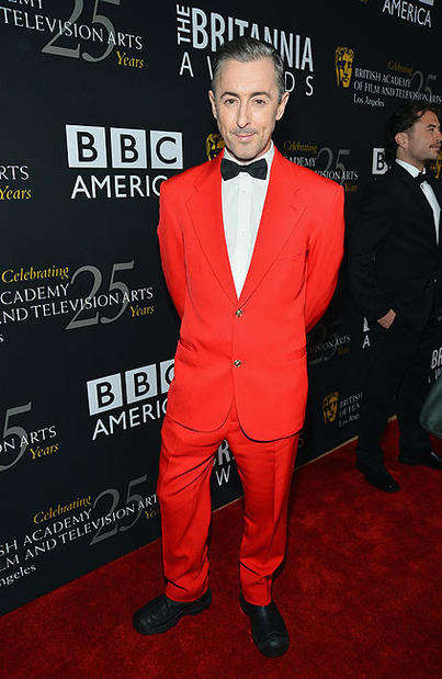 Host Alan Cumming arrives at the 2012 BAFTA Los Angeles Britannia Awards presented by BBC America at The Beverly Hilton Hotel.