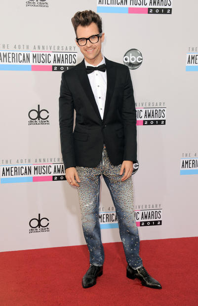 Stylist and TV personality Brad Goreski at the 40th American Music Awards.