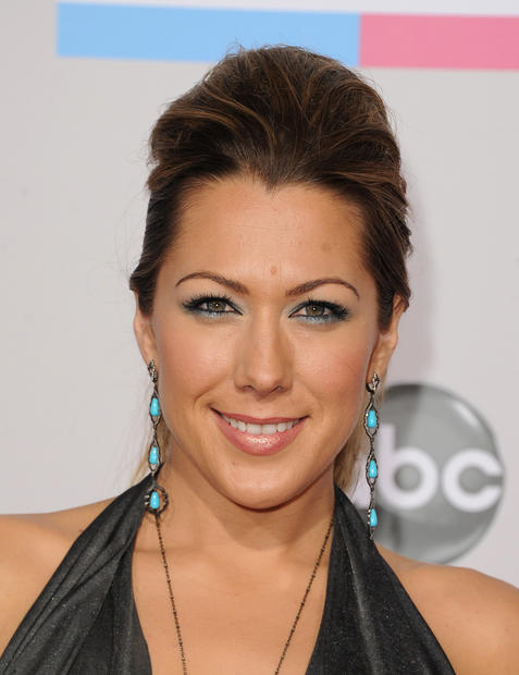 Singer Colbie Caillat at the 40th American Music Awards.
