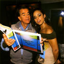 Dick Clark and Alicia Keys