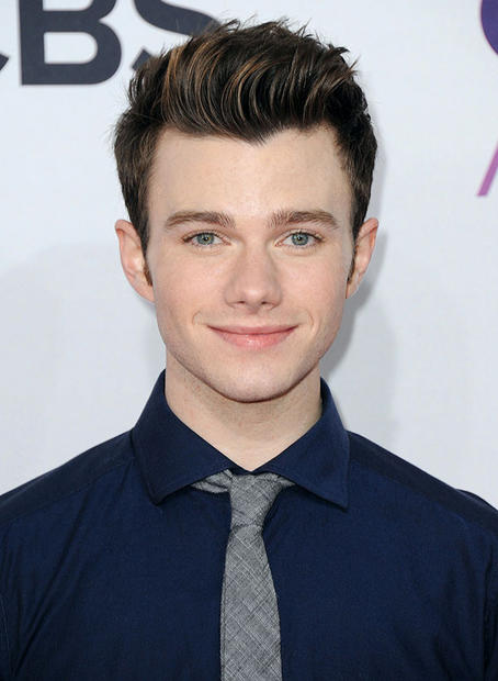 """Glee"" actor Chris Colfer"