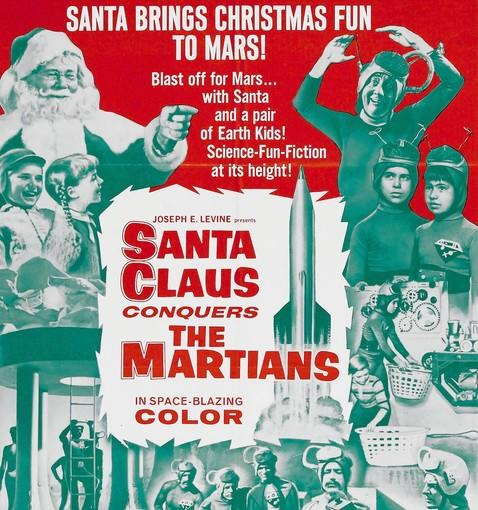 "Camp classic 'Santa Claus Conquers the Martians,' which stars an 8-year-old Pia Zadora, is out on Blu-ray for the holidays. It's so bad it's good.  For a movie that is considered one of the worst ever made, 1964's ""Santa Claus Conquers the Martians"" has had quite a wonderful life. Kino Lorber has put the musical holiday film on Blu-ray for the holidays. An 8-year-old Pia Zadora is one of the stars of this stuffed turkey about a group of Martians that decide to kidnap Santa because their children have become obsessed with St. Nick. Ineptly directed by Nicholas Webster with poor production values and wooden performances, ""Santa Claus Conquers the Martians"" is a blissful camp feast."